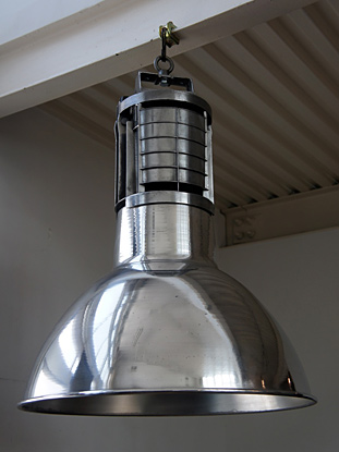 Lighting house of fer travail mazda industrial pendant lamp aluminium mozeypictures Choice Image